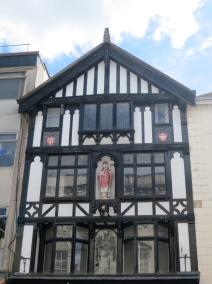 Timbered building