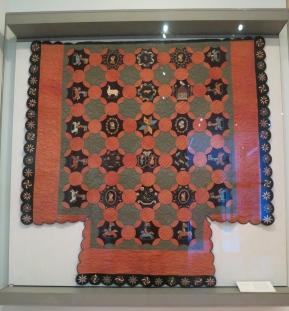 Handmade quilt from 1830