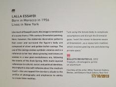 About Lalla Essaydi's work