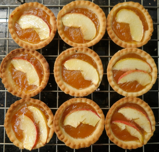 Mini French Apple Tarts