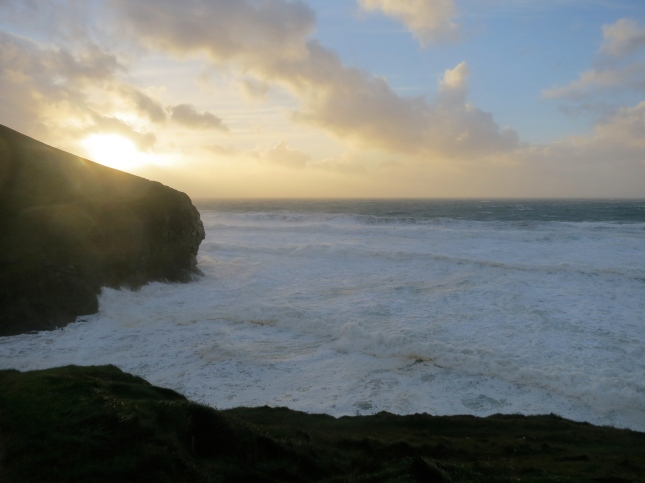 Wild seas at Chapelporth