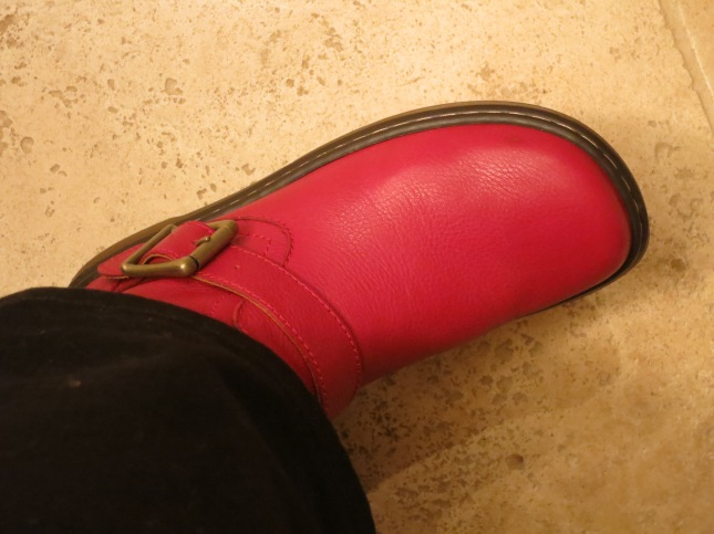 My new red Doc Marten boots