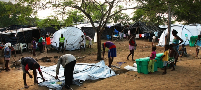 ShelterBox in action