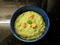 Broad bean hummus