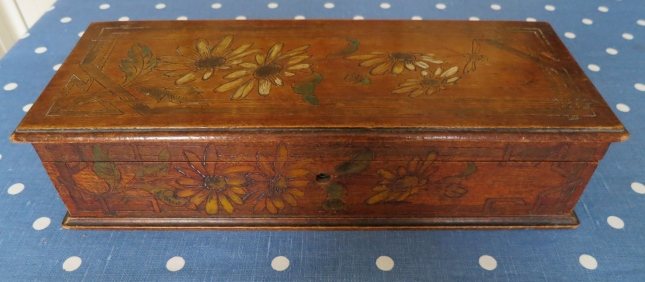 Beautiful painted box