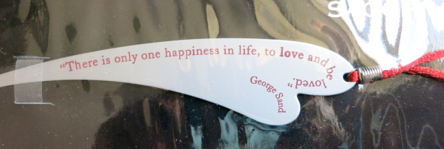 George Sand's wise words