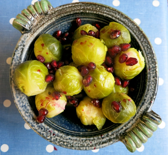 Jewelled sprouts