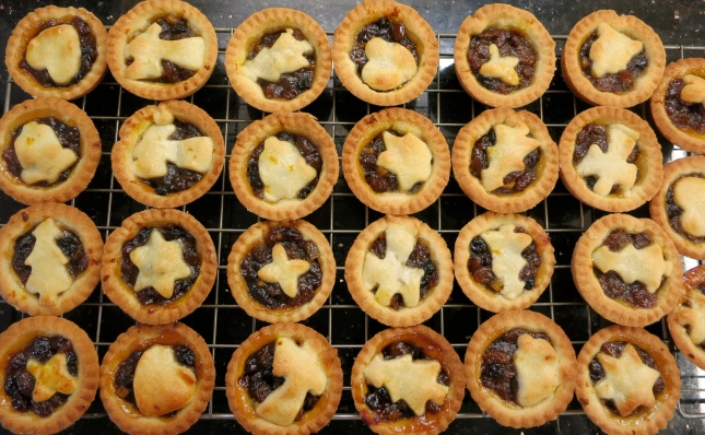 A's first ever mince pies