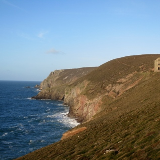 Wheal Coates on the cliffs