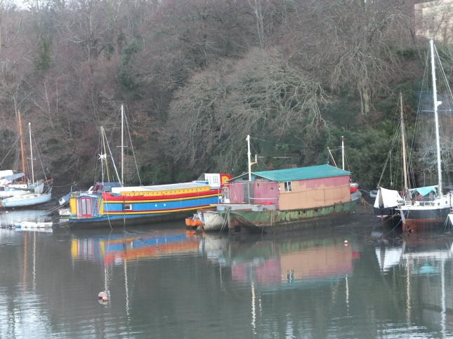 Reflections on the Penryn River