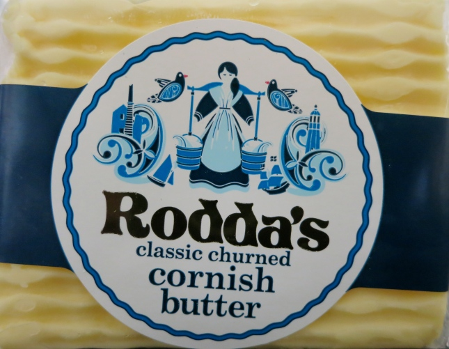 Delicious Cornish butter