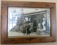 Hamilton's Barber Shop as it used to be