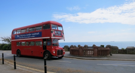 London bus in Falmouth