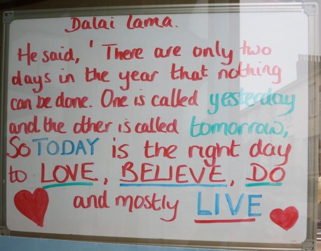 Dalai Lama's words