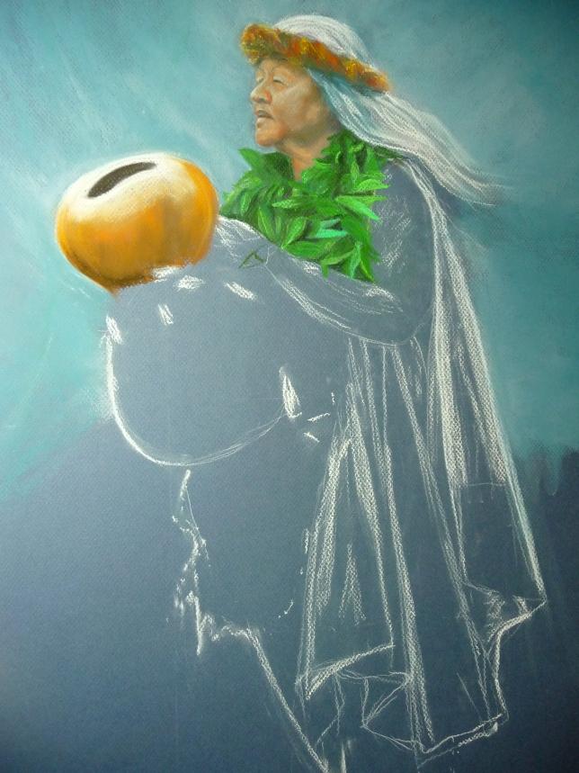 kumu Raylene, painting 1