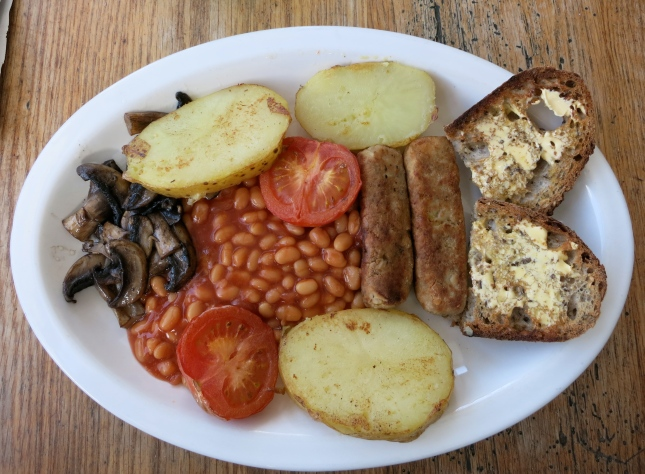 My vegan full English