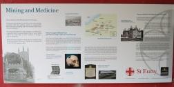 Mining and Medicine information board