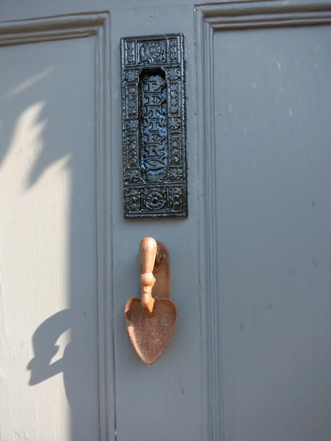 Delightful door knocker