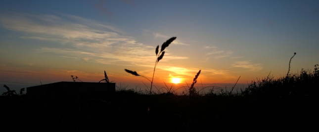 Sunset seen from St Agnes Beacon