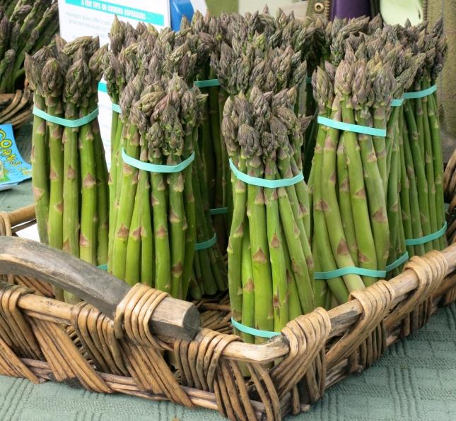 Cornish asparagus