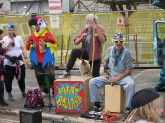 Brilliant skiffle band that had everyone dancing