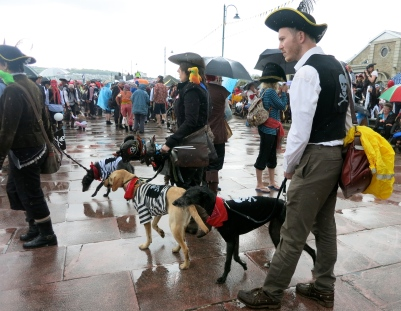 Pirates and their Pirate dogs
