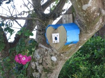 Another birdbox designed by a Granddaughter