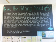 The Potting shed at Godolphin