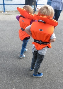 In our life jackets