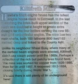 Killifreth Mine information