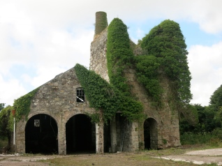 One of the Wheal Busy buildings