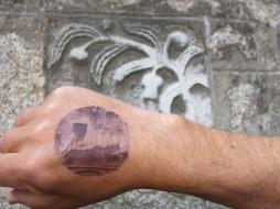 Tattoo and stone