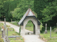 The Lych gate at Gwennap Church