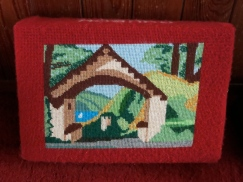 The Lych gate on a kneeler
