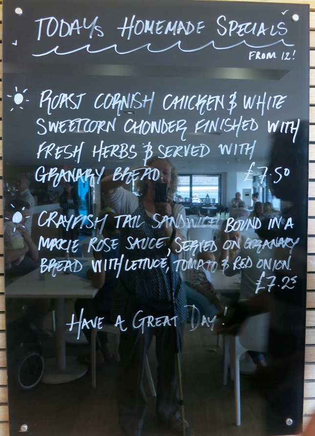 Today's Specials at The Gylly Beach Cafe
