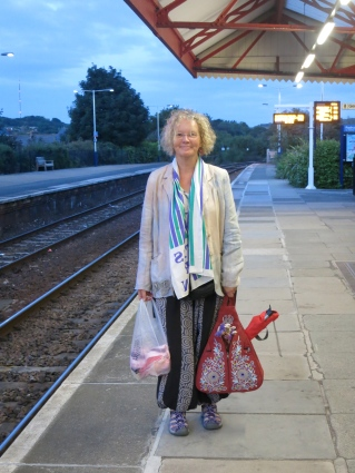 Redruth Station at 5.50