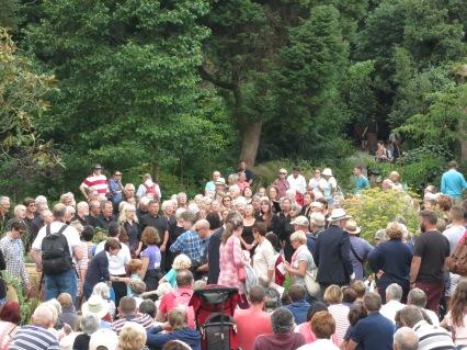 Singing in the Sundial garden