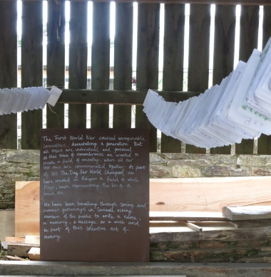 Messages of memory and loss