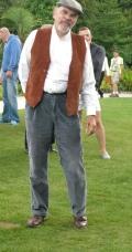 David in costume