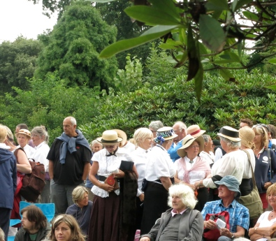 More of our beautifully turned out choir