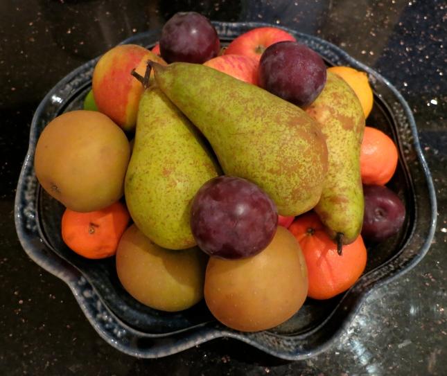 Fruit bowl October 2012