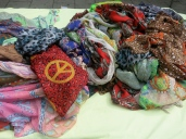 Scarves and the CND logo