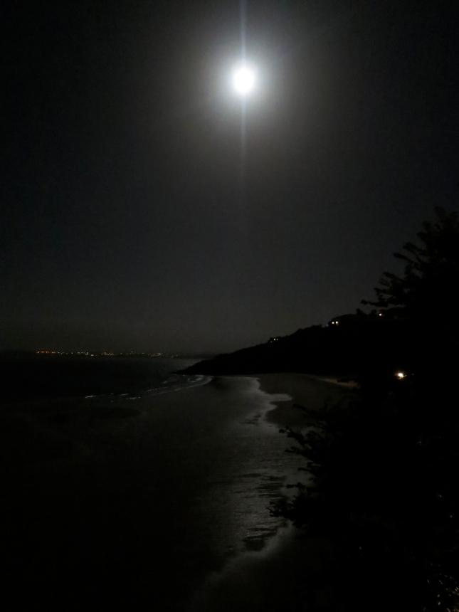 Carbis Bay at night