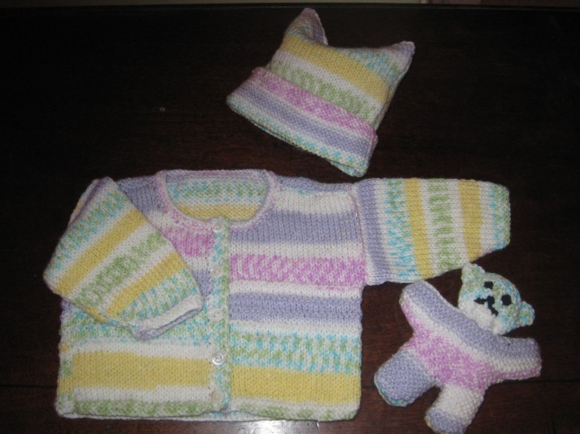 Oct 2008 Knitting for first Grandbaby