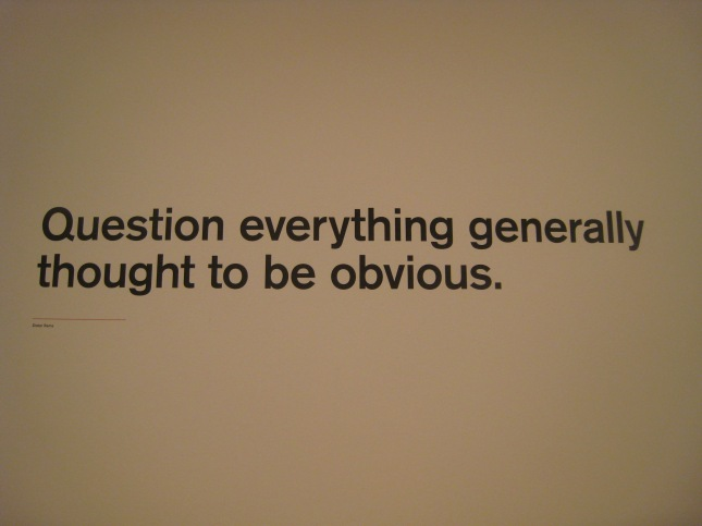 Oct 2011 in an Art gallery in San Fransisco