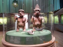 Ancient Mexican sculptures