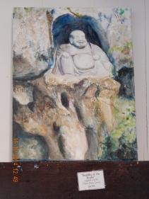 Buddha of the Rocks by my sister, Daisy Priya Lucas