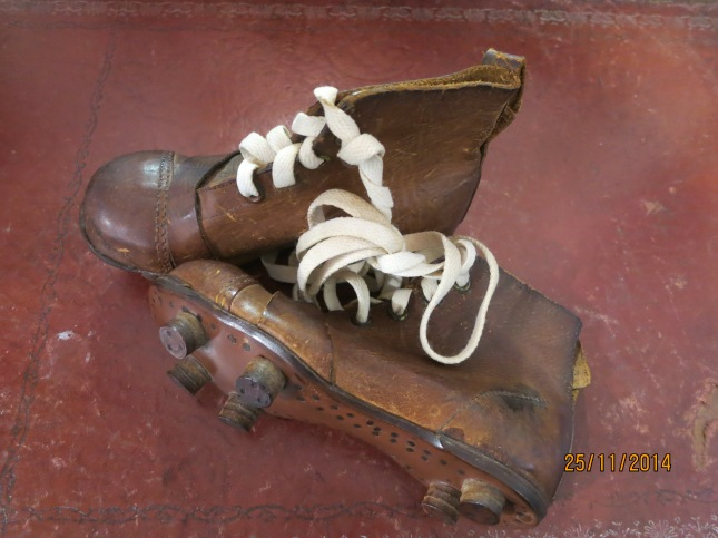 Very small football boots