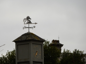 Weather vane at Trelissick