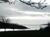 Looking out to the Carrick Roads